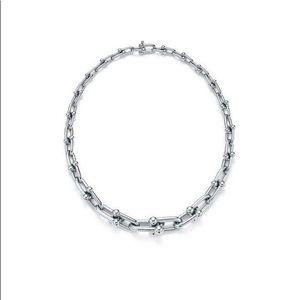 Tiffany Co Graduated Link Hardwear Necklace